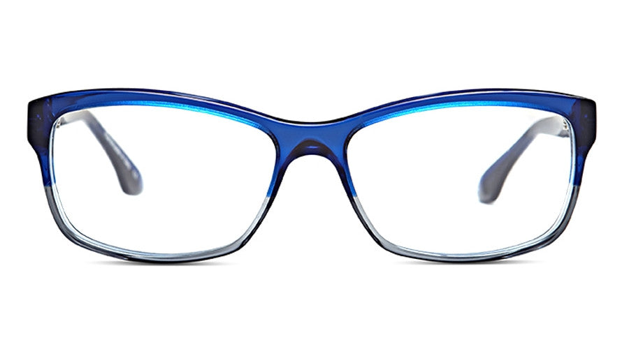Claire Goldsmith Victory c. Indigo Smoke Screen Eyeglasses