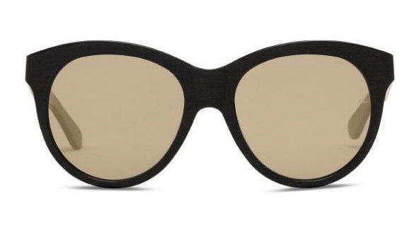 134927217a Oliver Goldsmith Manhattan Goldside c.Raw Black Sunglasses