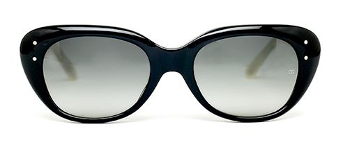 Oliver Goldsmith Sophia (1967) c.Black/Ivory Sunglasses