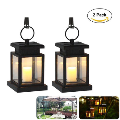 Solar Lanterns - Outdoor Garden Candle Lights