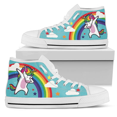 Unicorn Dabbing Shoes