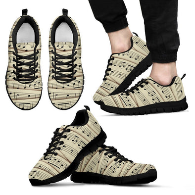 Sheet Music Sneakers