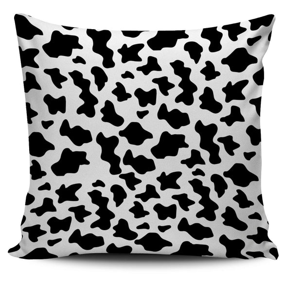 Cow Print Pillow Cover