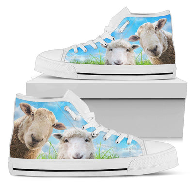 Sheep High Top Shoes