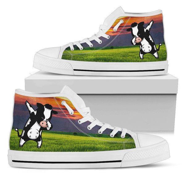Cow Dabbing Shoes