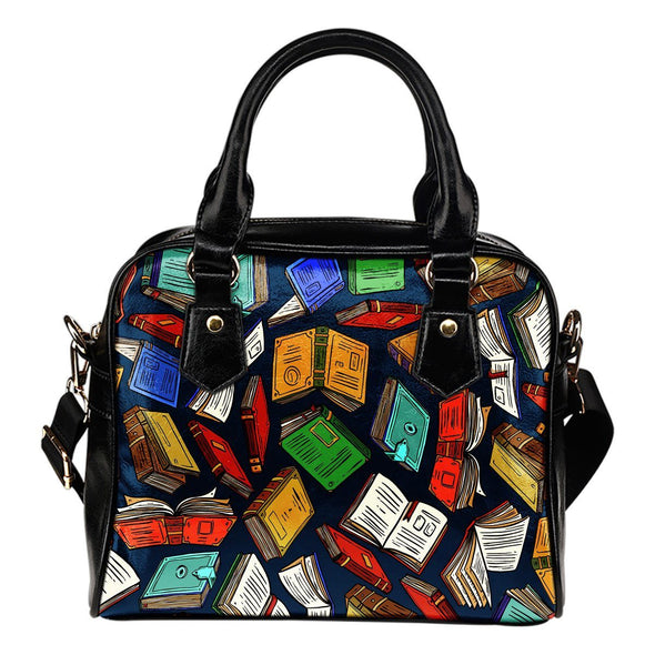 Book Lovers Shoulder Handbag