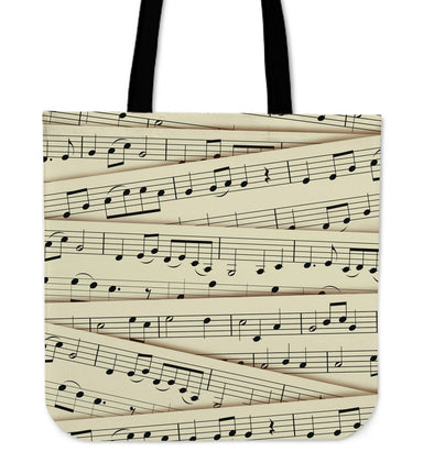 Sheet Music Tote Bag