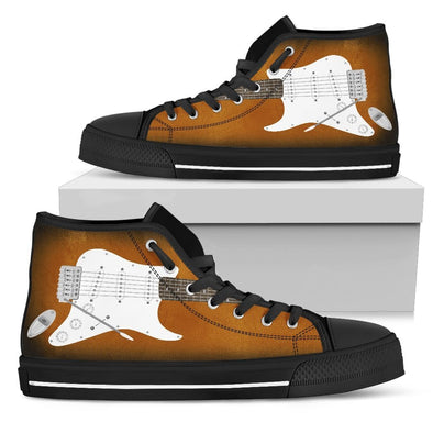 Electric Guitar Shoes - Sunburst