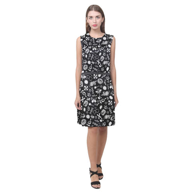 Biology Doodle Sleeveless Dress