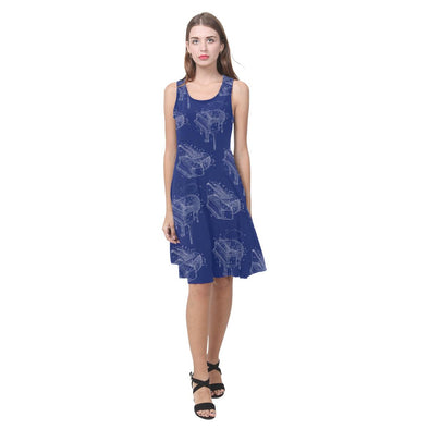 Piano Blueprint Sundress