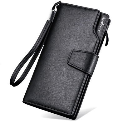 Baellery Leather Wallet (Passport Holder & 2 Sim Card Slots)