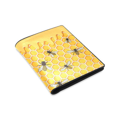 Honey Bees Leather Wallet