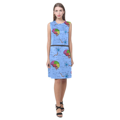 Neuroscience Doodle Dress (Colored)