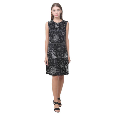 Biology Doodle Dress (Black)