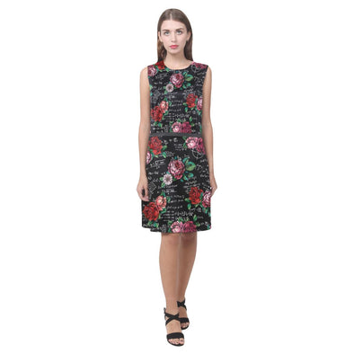 Floral Math Equations Dress