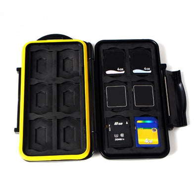 Water Resistant Memory Card Case