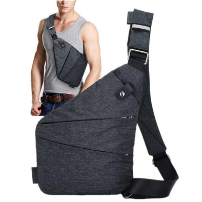 Anti Theft Men's Crossbody Bag