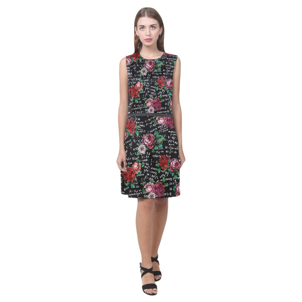 Floral Physics Equations Dress
