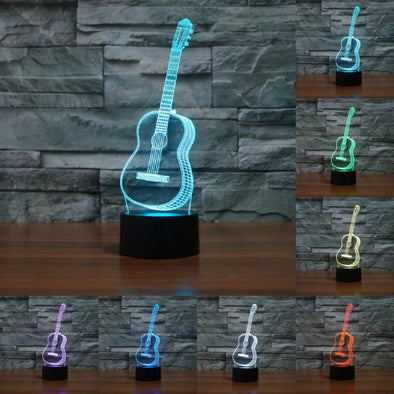 LED Classical Guitar Lamp