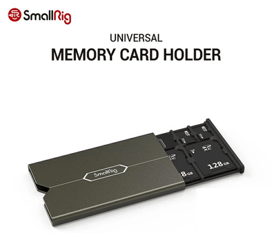 Credit Card Sized Memory Card Case