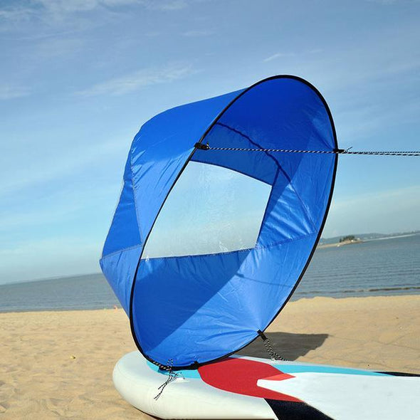 Kayak Wind Sail Kit - Foldable, Portable