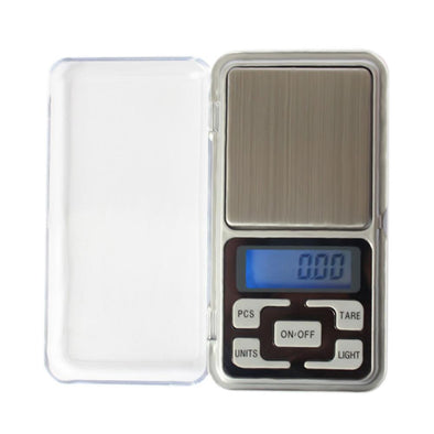 Mini Pocket Digital Gram Scale - 500g x 0.01g