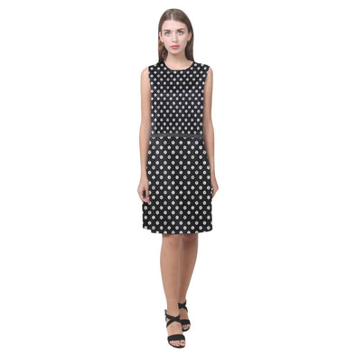 Mathematical Symbols Polka Dot Dress