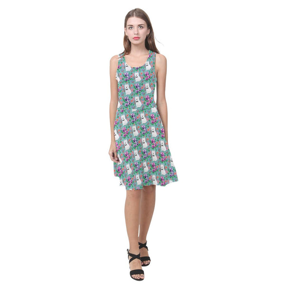 Floral Westie Sundress
