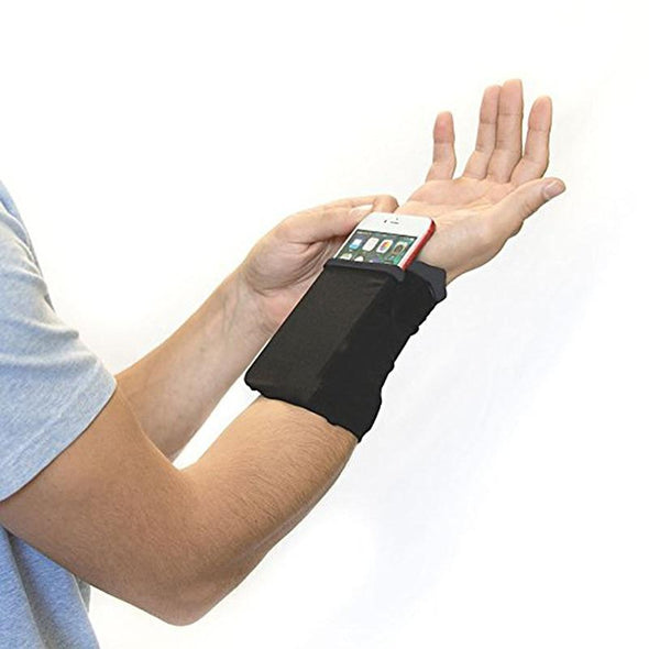 Sports Wristband Pouch and Phone Holder