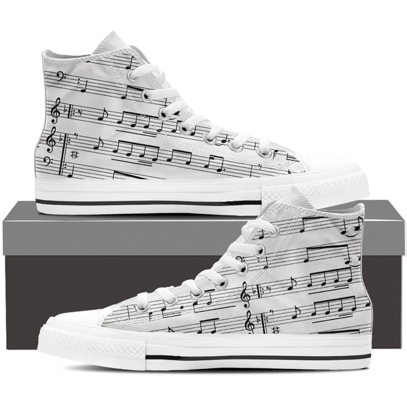 Sheet Music Shoes