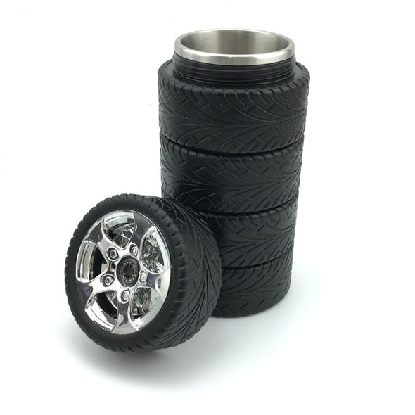 Tire Stainless Steel Mug