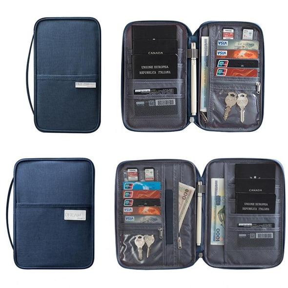Waterproof Travel Wallet & Passport Holder