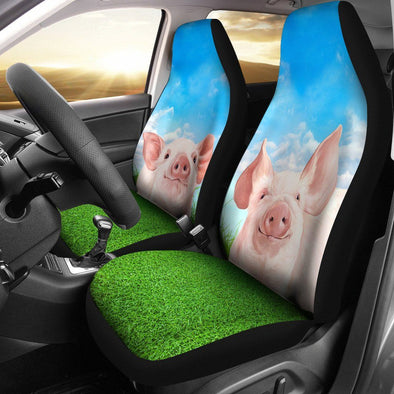 Pig Lover Car Seat Covers (Set of 2)