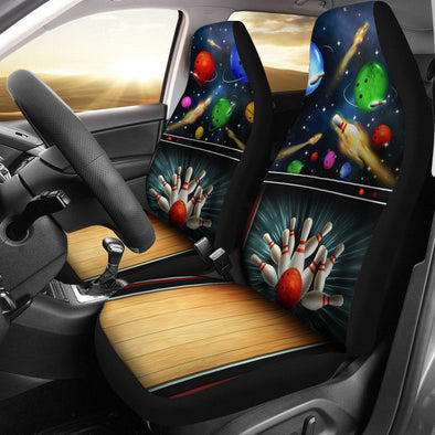 Bowling Car Seat Covers (Set of 2)