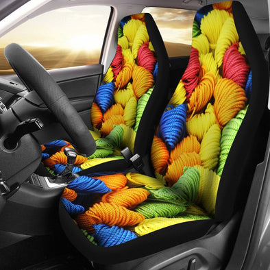 Yarn Car Seat Covers (Set of 2)