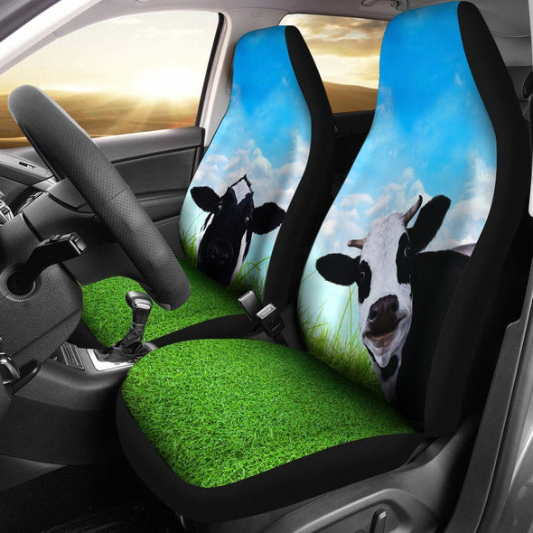 Cow Car Seat Covers (Set of 2)