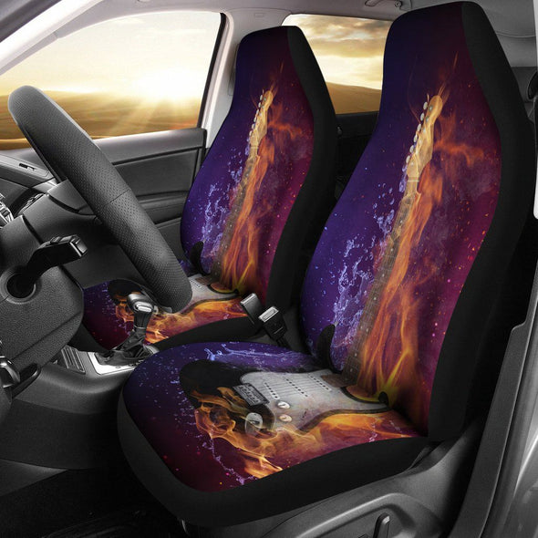 Electric Guitar Car Seat Covers (Set of 2)