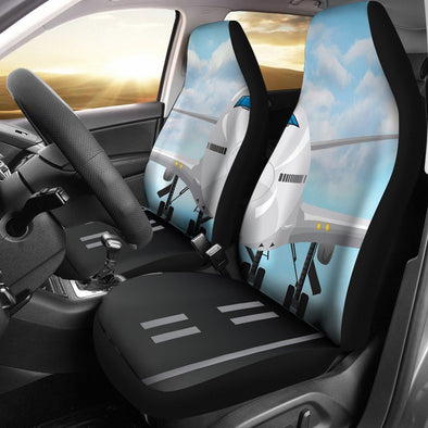 Airplane Car Seat Covers (Set of 2)