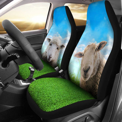 Sheep Car Seat Covers (Set of 2)