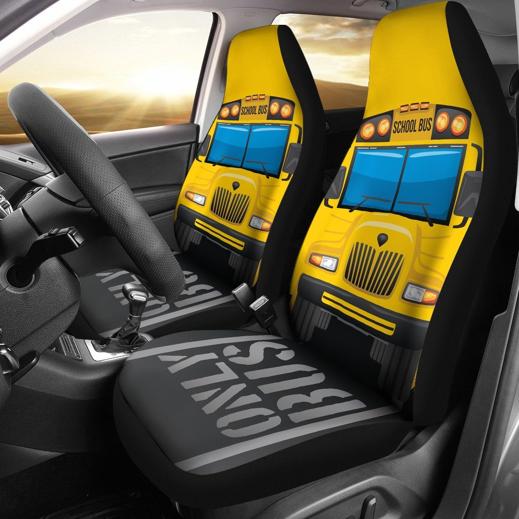 School Bus Car Seat Cover (Set of 2) – Streetment