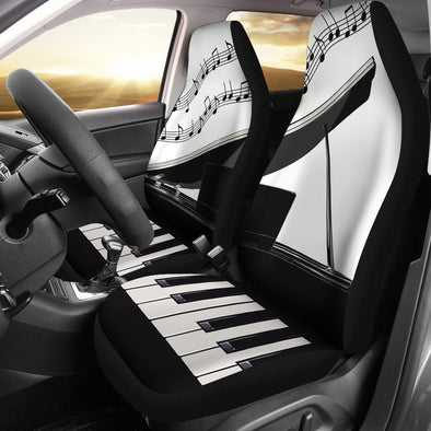 Piano Car Seat Covers (Set of 2)