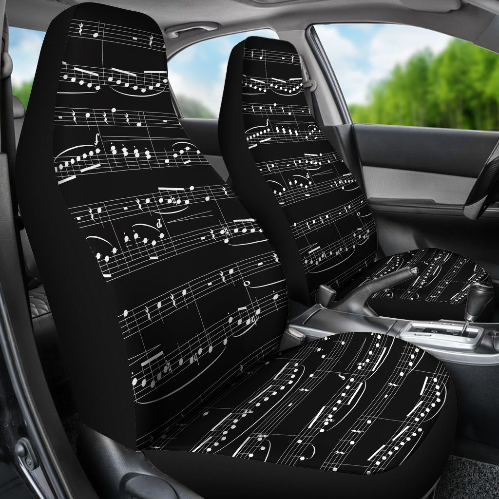 Sheet Music Car Seat Covers (Set of 2) – Streetment 39c6421fe0