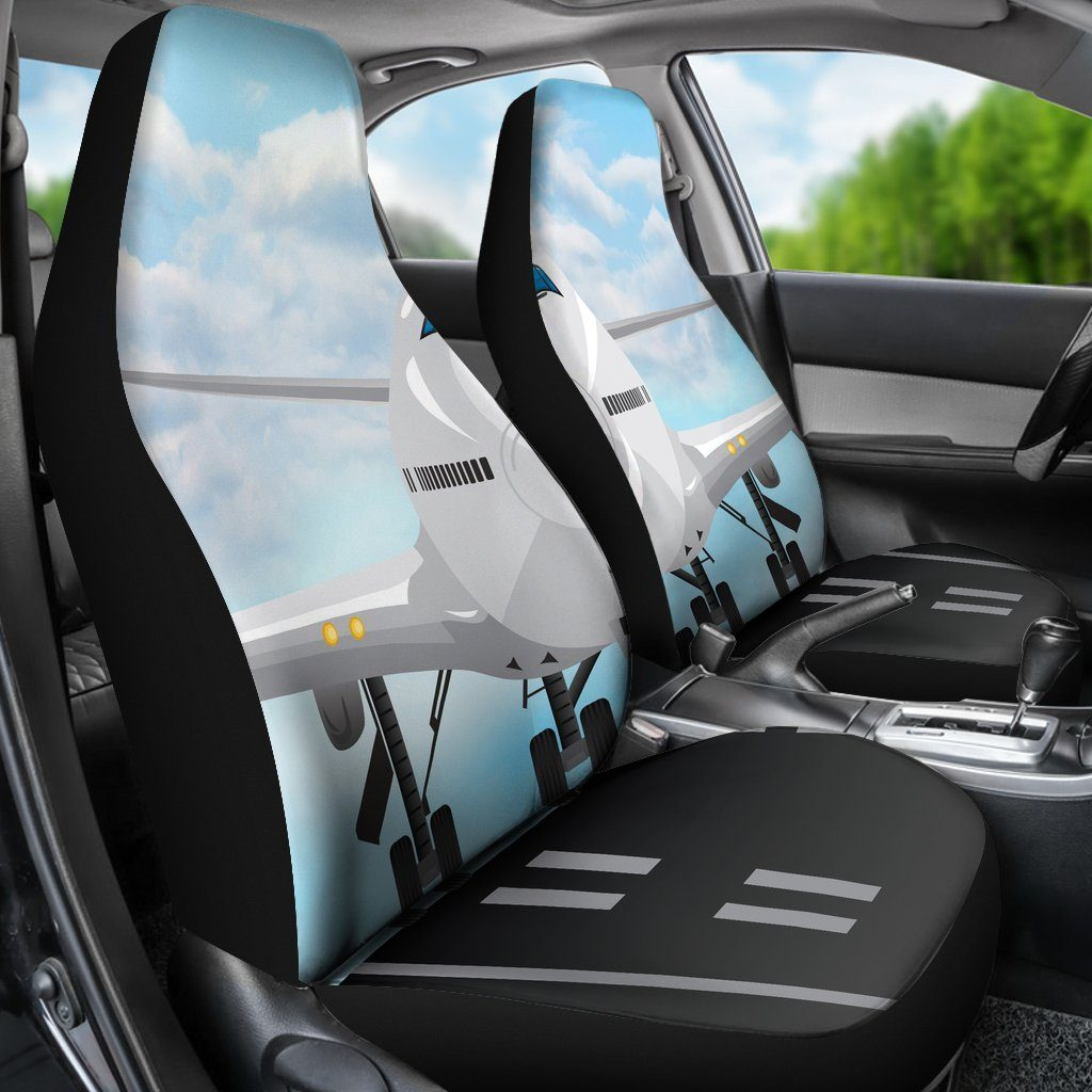 Airplane Car Seat Covers (Set of 2) – Streetment
