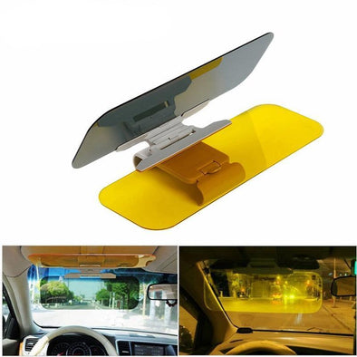 Car Sun Visor Extension - Anti-Glare, Clip-On, See-Through