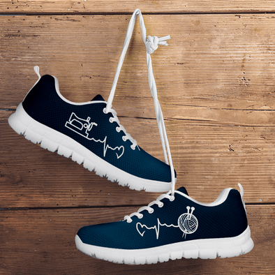 Knitting & Sewing Sneakers