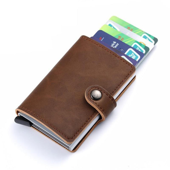 Premium Faux Leather RFID Wallet