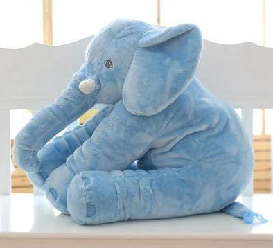 Cute Baby Stuffed Elephant Plush Pillow Cushion For Cuddling