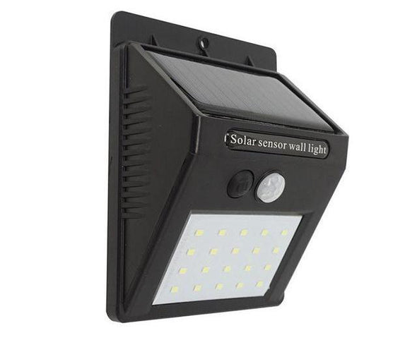 Outdoor Solar Powered Wall Light