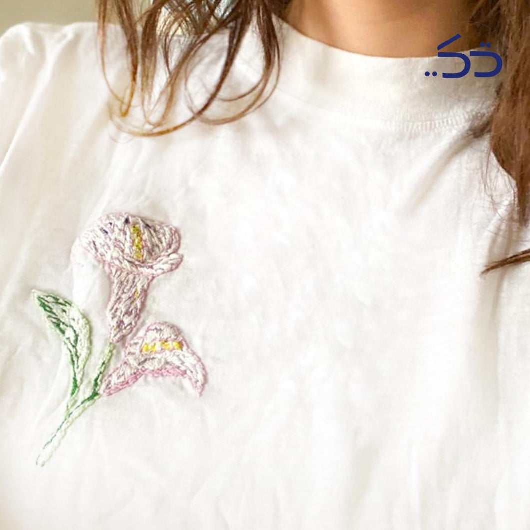 Cala Mini flower shirt