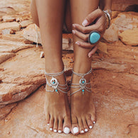 Tibetan Muse Multilayer Anklet